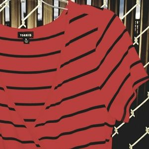 Torrid Knit Wrap Dress